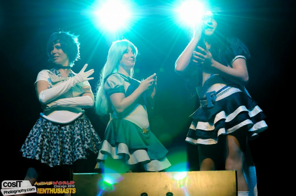 Sailor Social Media at Anime World 2012
